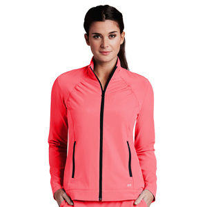 Barco One Women's Coral Full-Zip Warm-Up Jacket